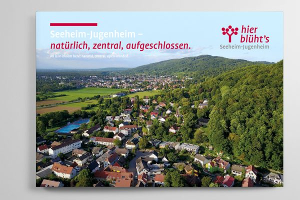 Neue Imagebroschüre der Gemeinde Seeheim-Jugenheim