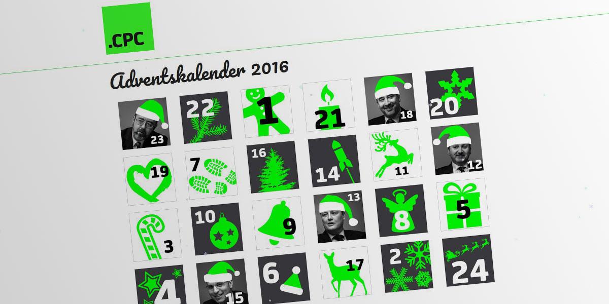 Virtueller Adventskalender für CPC