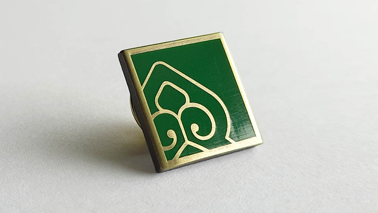 Design eine Logo-Ehrennadel für die Stiftung Heiligenberg Jugenheim