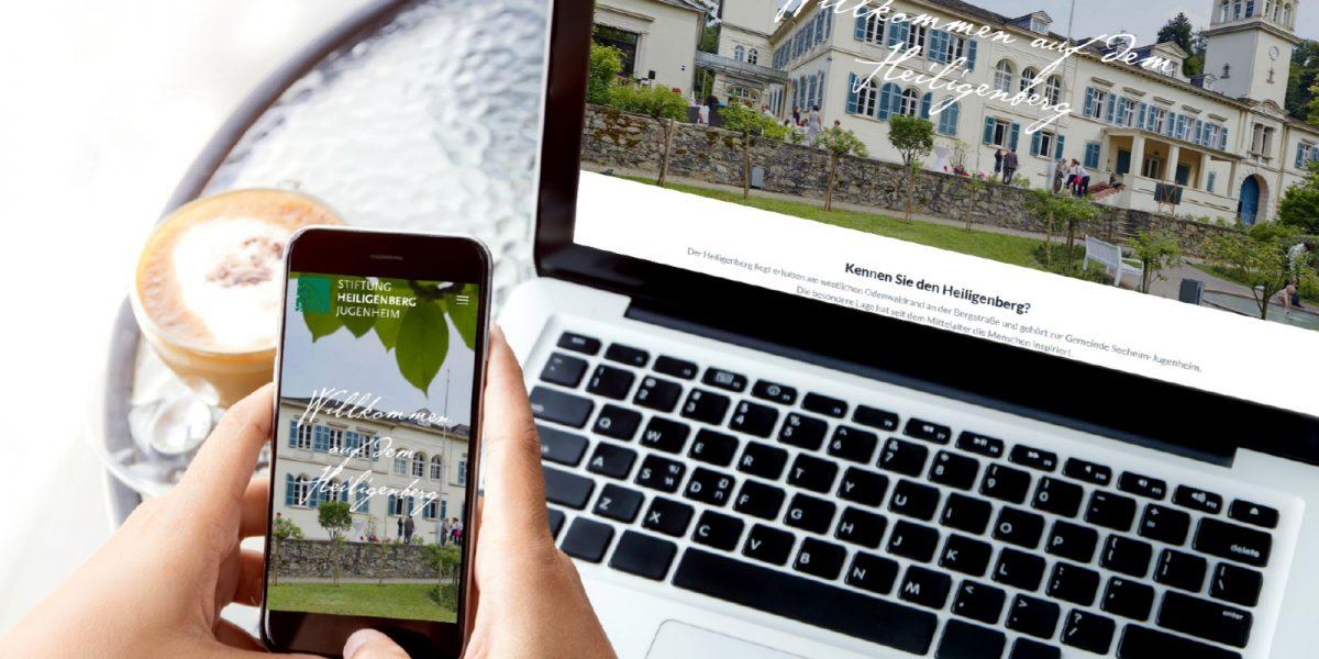 Neue Webseite für die Stiftung Heiligenberg Jugenheim